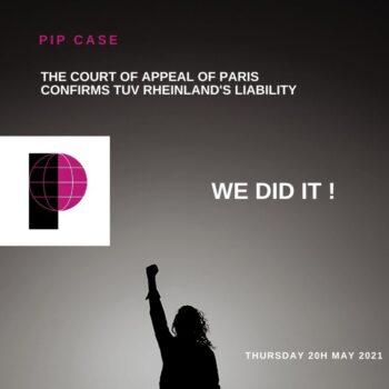 Caso de los implantes mamarios PIP: una victoria para cientos de miles de mujeres en todo el mundo